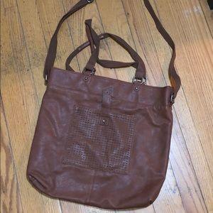 Huge brown satchel, perfect for school!